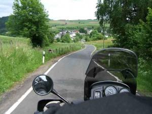 Motorrijden in de Eifel
